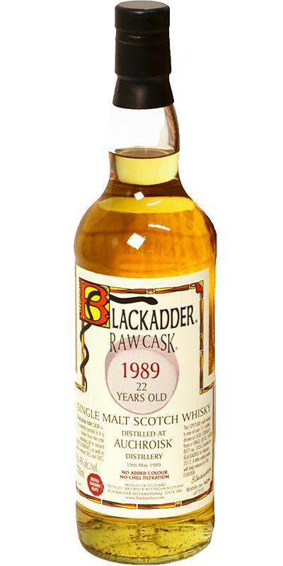 Auchroisk 22 Year 1989 Blackadder Raw Cask