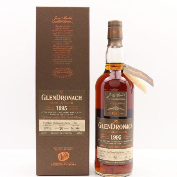GlenDronach 20 Year 1995 Single Cask #543