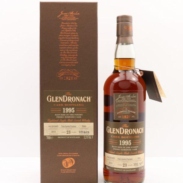 GlenDronach 23 Year 1995 Cask Bottling #3040