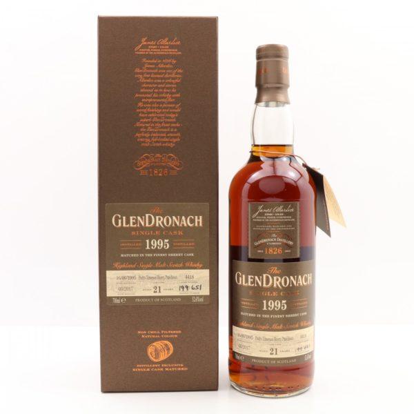 GlenDronach 21 Year 1995 Single Cask #4418