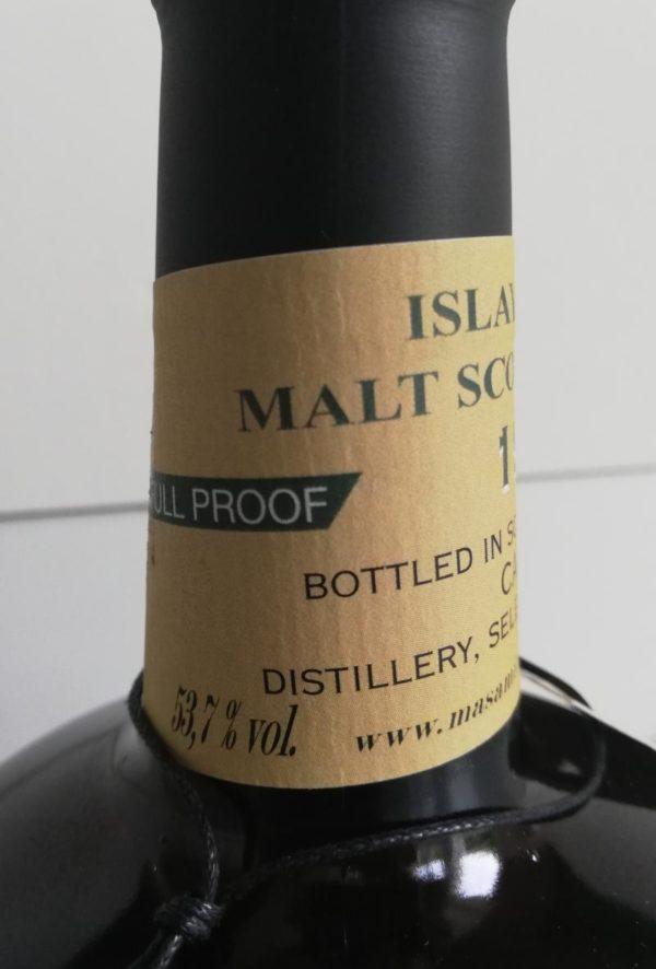 Caol Ila 21 Year 1999 Masam Silvano's Collection label