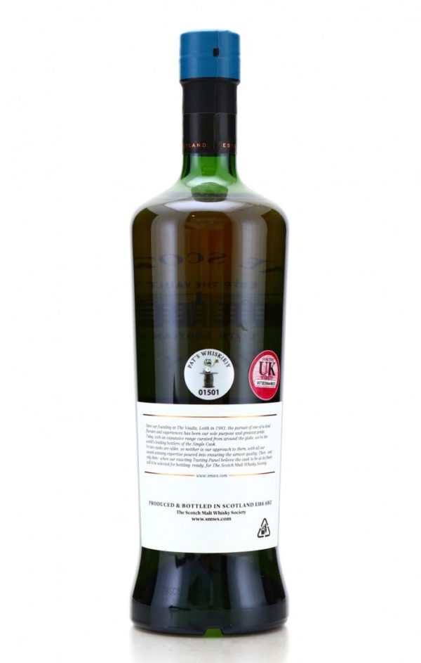 Laphroaig 20 Year 1996 SMWS 29.241 A Perfect Moment back
