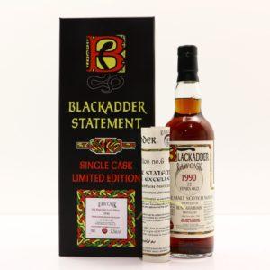Bunnahabhain 22 Year 1990 Blackadder Statement Raw Cask