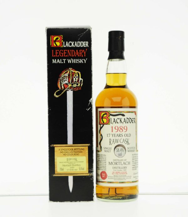 Mortlach 17 Year 1989 Blackadder Raw Cask